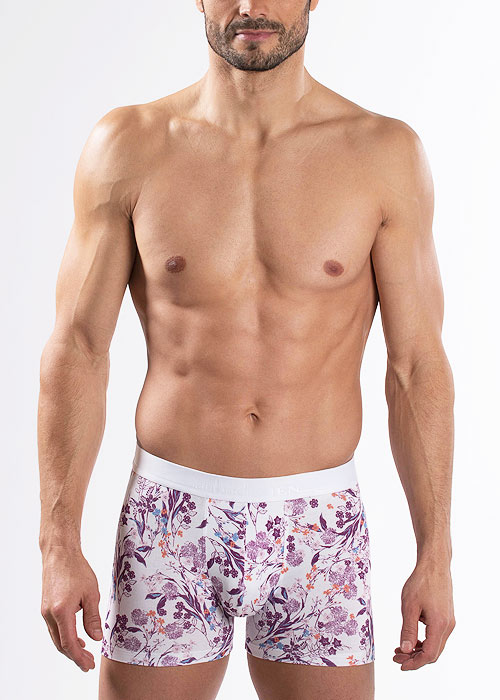Aubade Mens Porcelaine Boxers Two Pair Pack