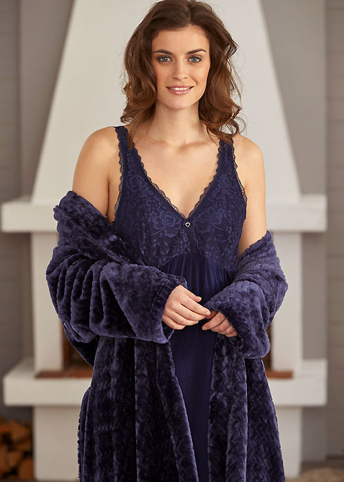 Damella Midnight Nightdress