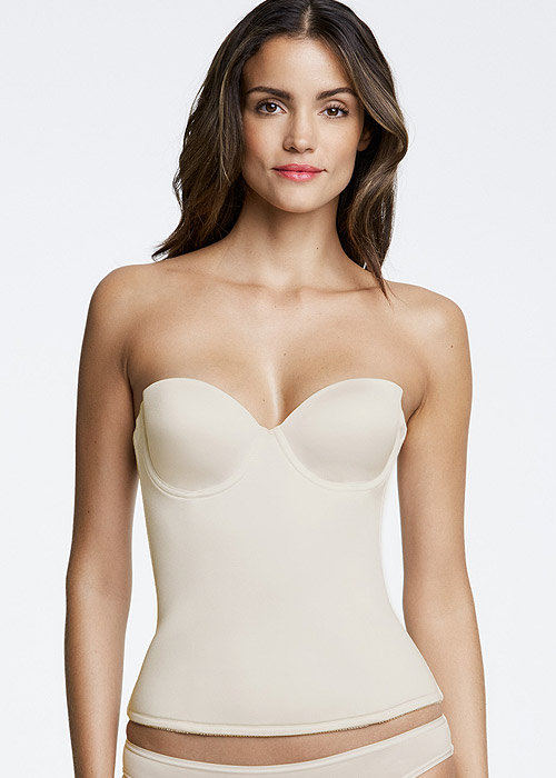 Dominique Paige Low Back Seamless Padded Basque