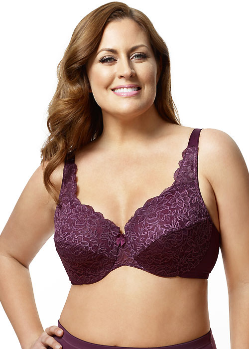 Elila Stretch Lace Underwired Bra