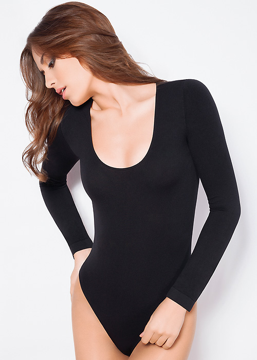Giulia Seamless Scoop Long Sleeve Body