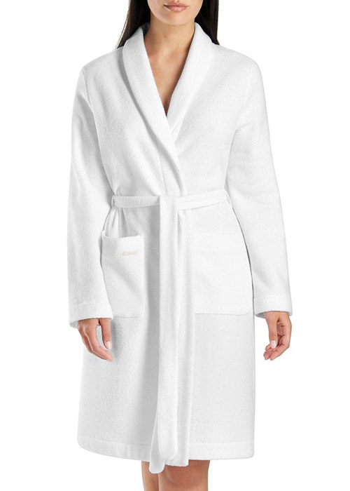 Hanro Plush Short Robe