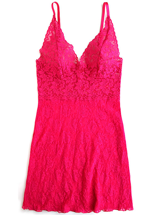 074fc21fc3d Hanky Panky Retro Lace Plunge Chemise Has Free Shipping At UK Lingerie