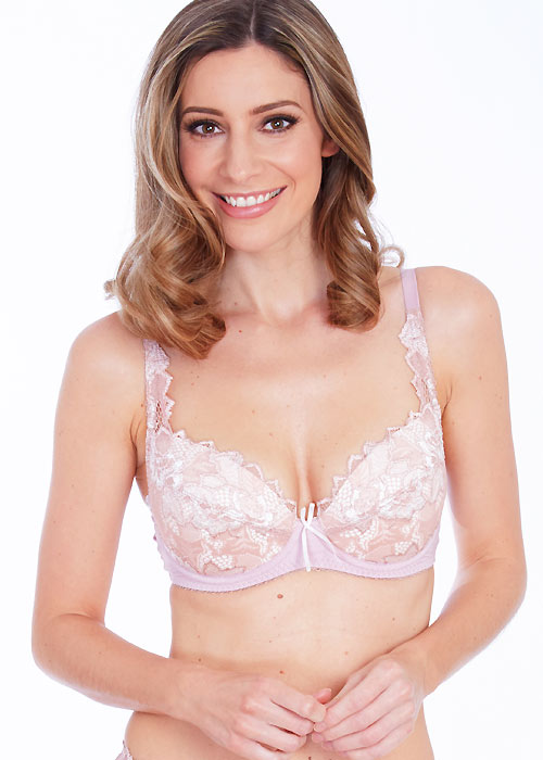 Lepel Fiore Rose Gold Padded Plunge Bra