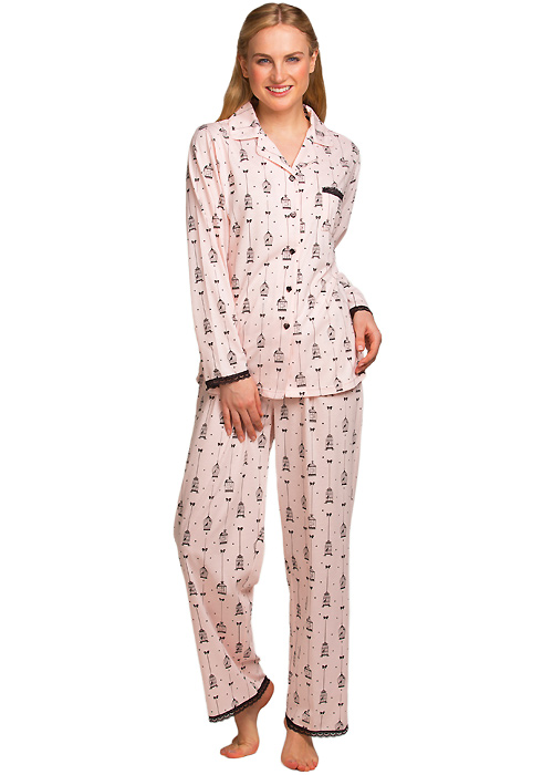 La Marquise Love Birds Pyjama Set