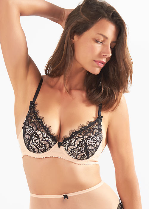Mimi Holliday Bisou Bisou Zoo Padded Super Plunge Bra