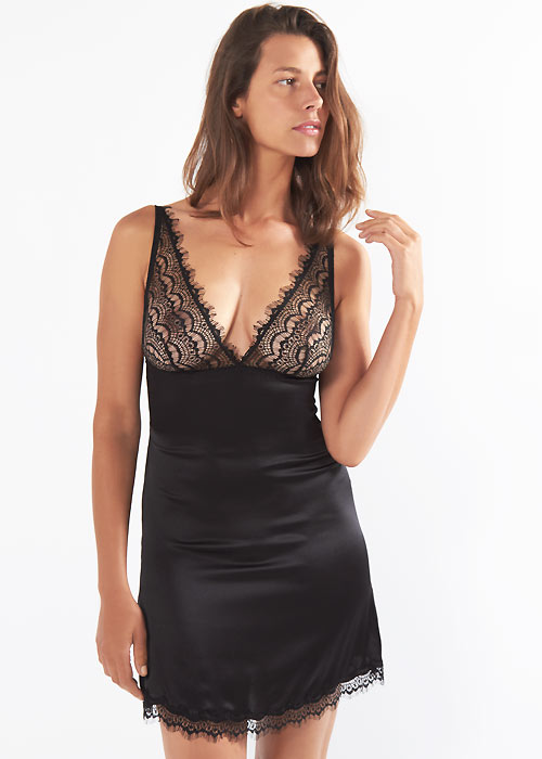 Mimi Holliday Bisou Bisou Zoo Shoulder Peep Chemise
