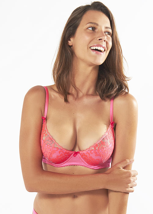 Mimi Holliday Disco Padded Super Plunge Bra