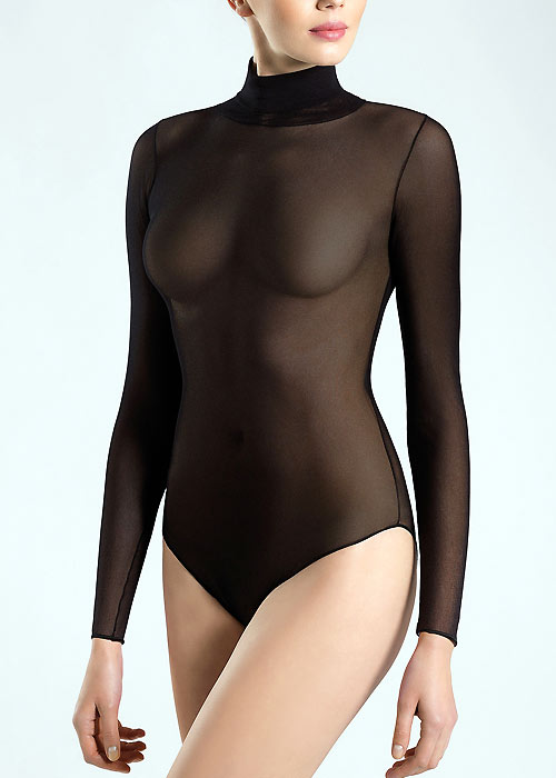 Pierre Mantoux Tulle Body Collo Alto