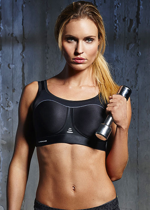 Pure Lime Compression High Impact Bra