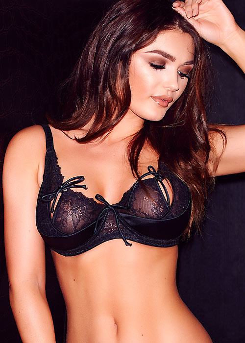 Pour Moi Contradiction All Tied Up Underwired Bra