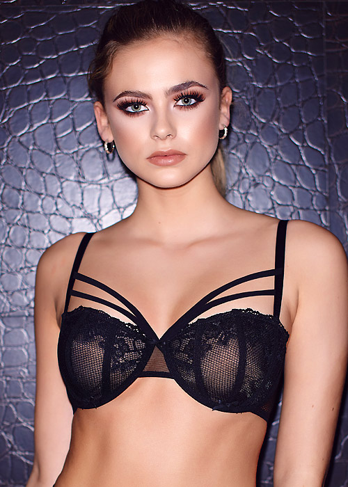 Pour Moi Contradiction Strapped Underwired Bra