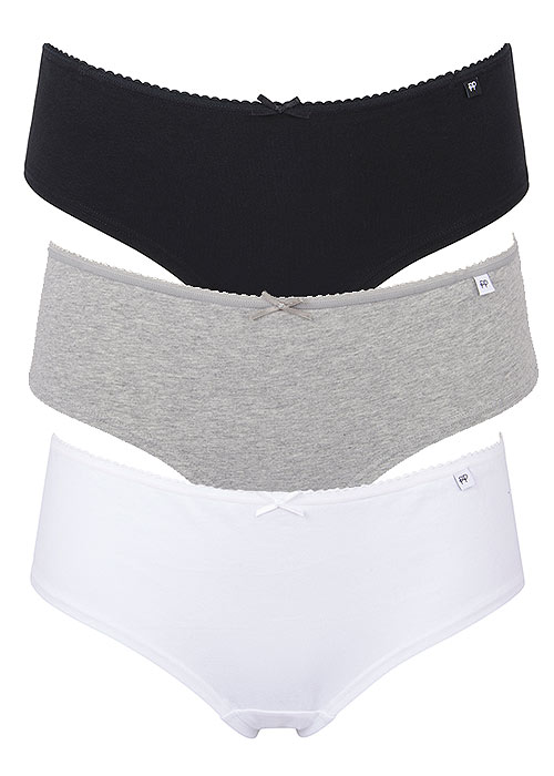 Pretty Polly Alice Cotton Cheeky Short Briefs 3PP