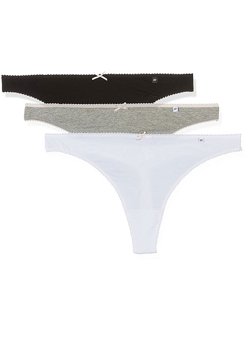 Pretty Polly Alice Cotton Thongs 3PP