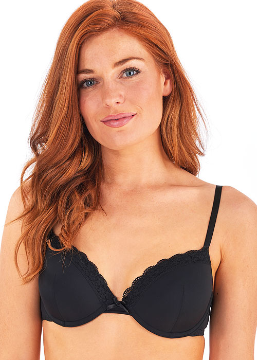 Pretty Polly Ella Padded Plunge Bra 2 Pack