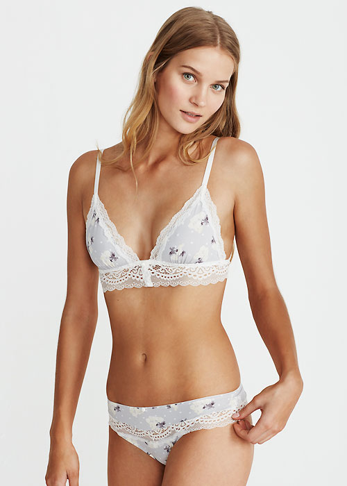 Promise Hebe Floral Bralette With Matching Thong