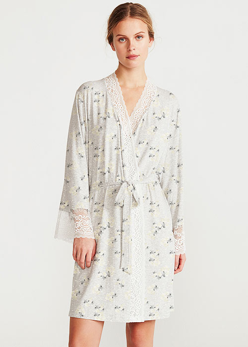 Promise Hebe Floral Robe