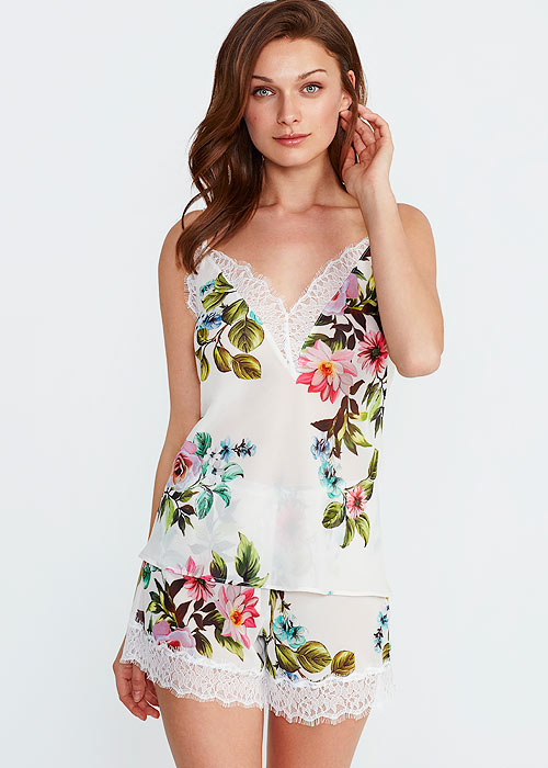 Promise Luxury Aida Floral Cami And Short Set