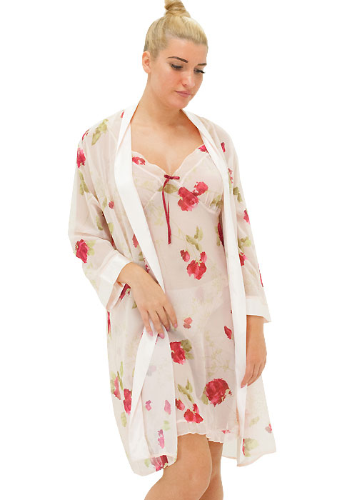 Repose Rose Chemise and Robe