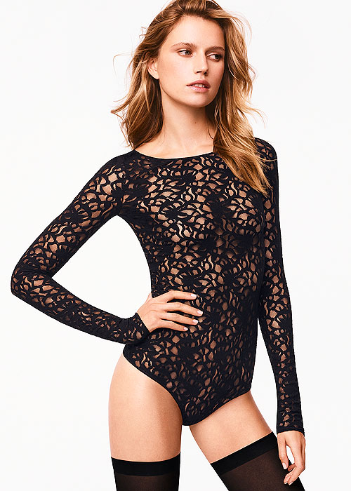 Wolford Arabesque String Body