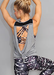 Acai Activewear Fashion Vest Zoom 1