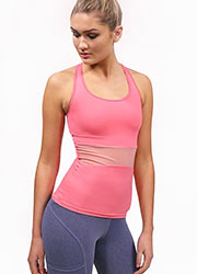 Acai Activewear Fitted Tank Top With Built-In Bra Zoom 2