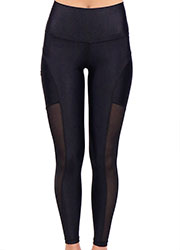 Acai Activewear Little Black Leggings Zoom 4