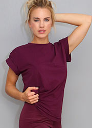 Acai Activewear Spider Back Tee Zoom 2