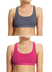 Ambra Active No Sweat Sports Bralette 2 pack Zoom 2