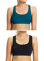 Ambra Active No Sweat Sports Bralette 2 pack
