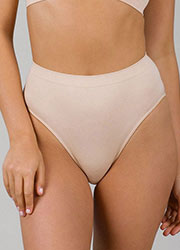 Ambra Body Soft Hi Cut Brief Zoom 3