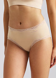 Ambra Bondi Bare Lace Midi Brief Zoom 1