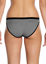 Ambra Seamless Cheeky Striped Hipster Brief Zoom 2