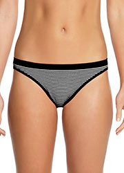 Ambra Seamless Cheeky Striped Hipster Brief
