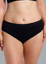 Ambra Curvesque Hi Cut Brief