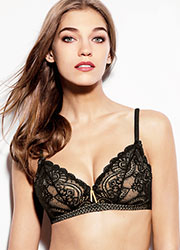 Aubade Art Of Kissing Soft Triangle Bra Zoom 1