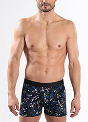 Aubade Mens Nocturne Boxers Two Pair Pack Zoom 1