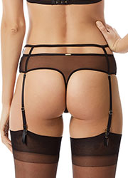 Bluebella Cerium High Waist Suspender Thong Zoom 2