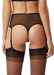 Bluebella Scala High Waisted Suspender Thong Zoom 2