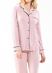 Blackspade Dots Long Pyjama Set Zoom 2