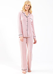 Blackspade Dots Long Pyjama Set