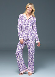 Blackspade Noir Emily Long Sleeve PJ Set Zoom 1