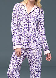 Blackspade Noir Emily Long Sleeve PJ Set Zoom 2