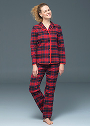 Blackspade Noir Lily Long Sleeve PJ Set