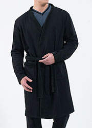 Blackspade Mens Thermal Robe Zoom 3