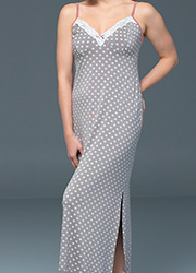 Blackspade Noir Olivia Dotted Gown Zoom 2