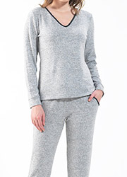 Blackspade Supersoft Long Pyjama Set Zoom 2