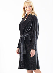 Blackspade Velvet Robe Zoom 2