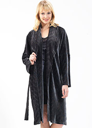 Blackspade Velvet Robe