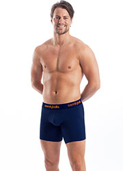 Comfyballs Cotton Long Navy Boxers Zoom 3